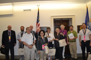 CT-AAUP delegation to Congress 2014