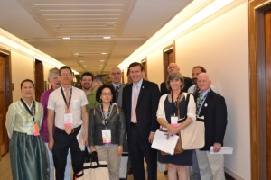 CT-AAUP delegation with Chris Murphy